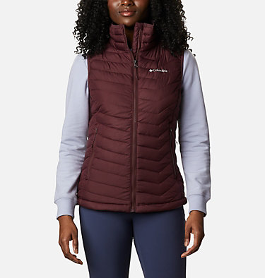 Women's Powder Lite™ Vest Powder Lite™ Vest | 671 | S, Malbec, front