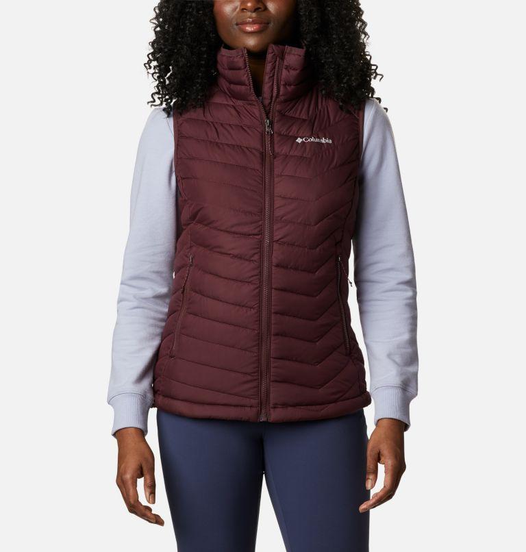 Powder Lite™ Vest | 671 | S Women's Powder Lite™ Vest, Malbec, front