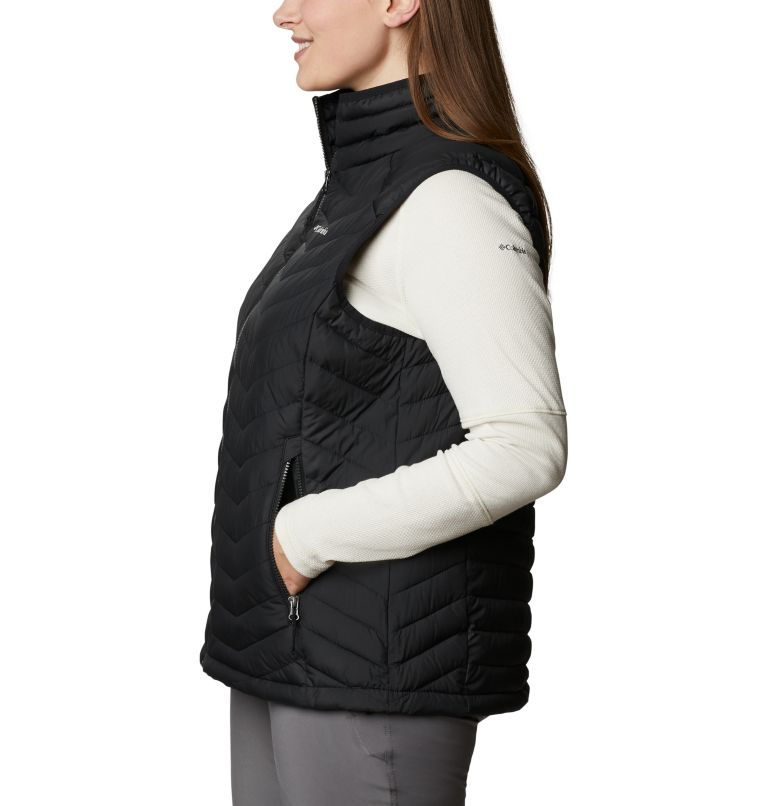 Powder Lite™ Vest   011   1X Women's Powder Lite™ Vest - Plus Size, Black, a1