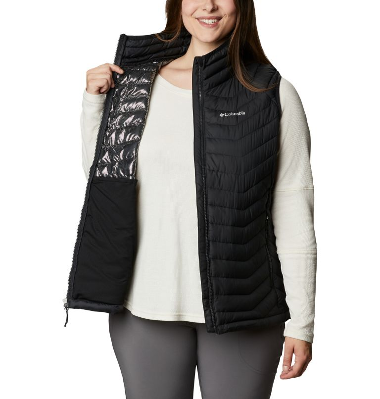 Powder Lite™ Vest   011   1X Women's Powder Lite™ Vest - Plus Size, Black, a3