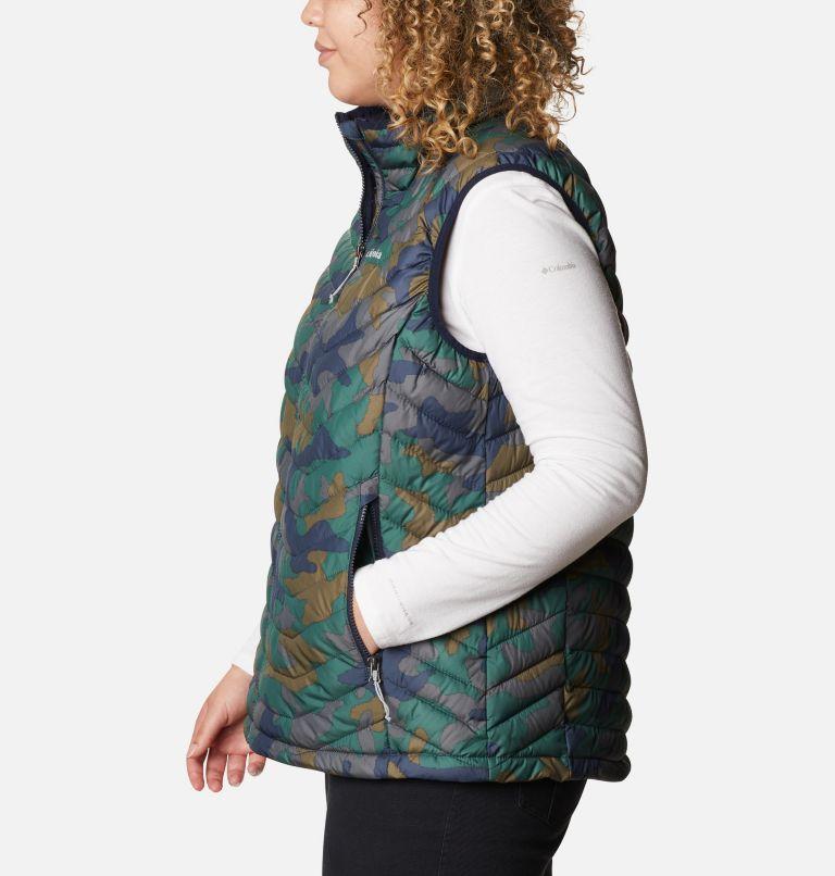 Powder Lite™ Vest | 472 | 1X Women's Powder Lite™ Vest - Plus Size, Dark Nocturnal Traditional Camo Print, a1