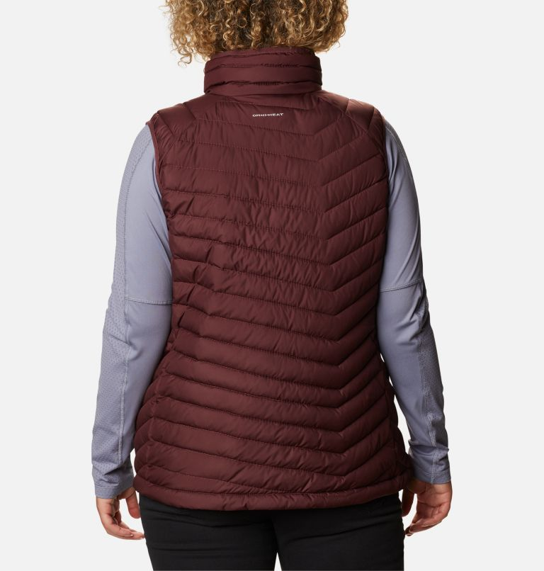 Women's Powder Lite™ Vest - Plus Size Women's Powder Lite™ Vest - Plus Size, back