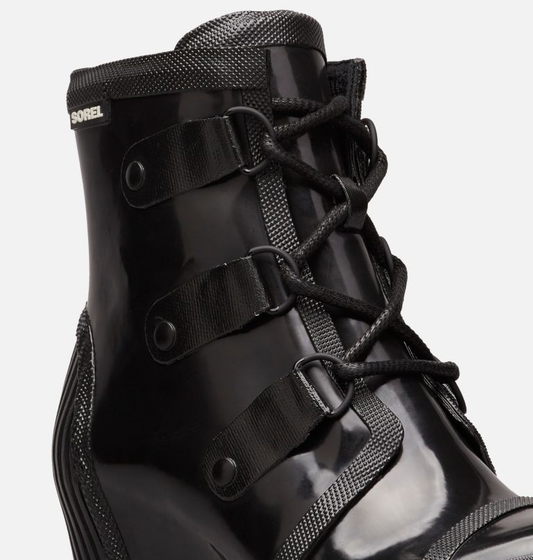 Women's Joan™ Rain Wedge Gloss Boot Women's Joan™ Rain Wedge Gloss Boot, a1