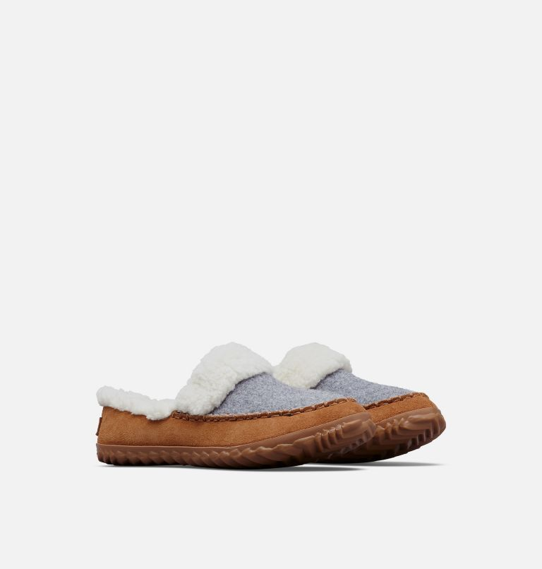 OUT N ABOUT™ SLIDE | 060 | 5 Women's Out 'N About™ Slide, Light Grey, Elk, 3/4 front
