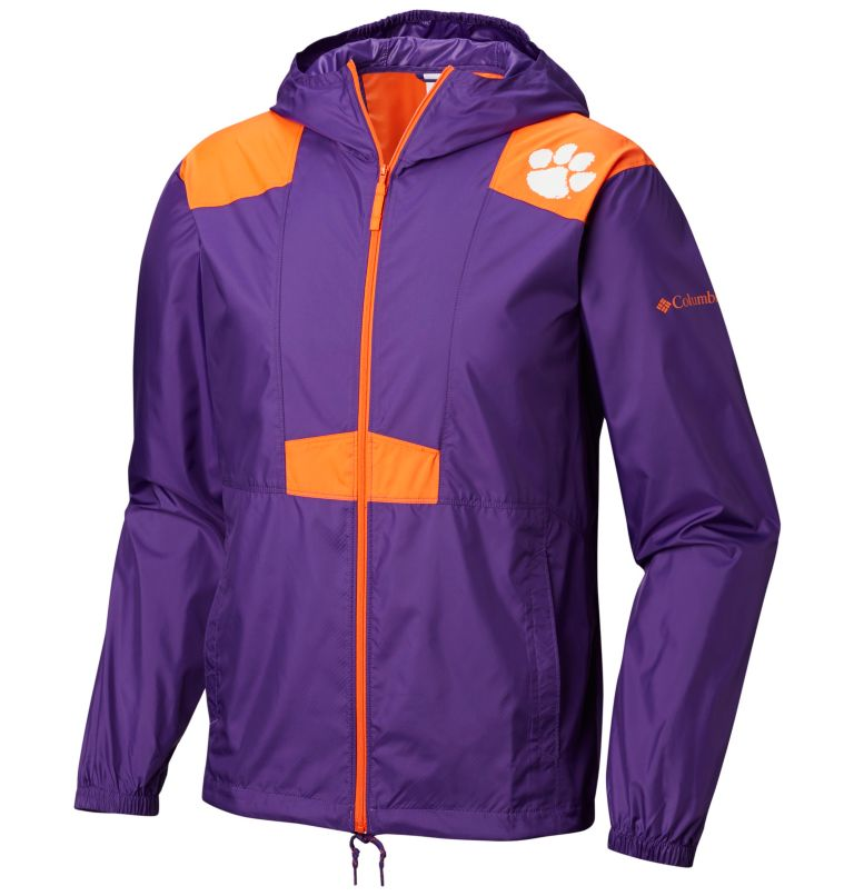 Men's Collegiate Flashback™ Windbreaker - Clemson Men's Collegiate Flashback™ Windbreaker - Clemson, front
