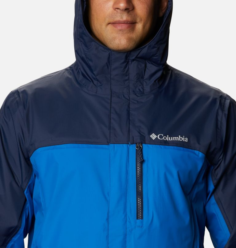 Pouring Adventure™ II Jacket | 432 | L Veste Pouring Adventure II Homme, Bright Indigo, Collegiate Navy, a2