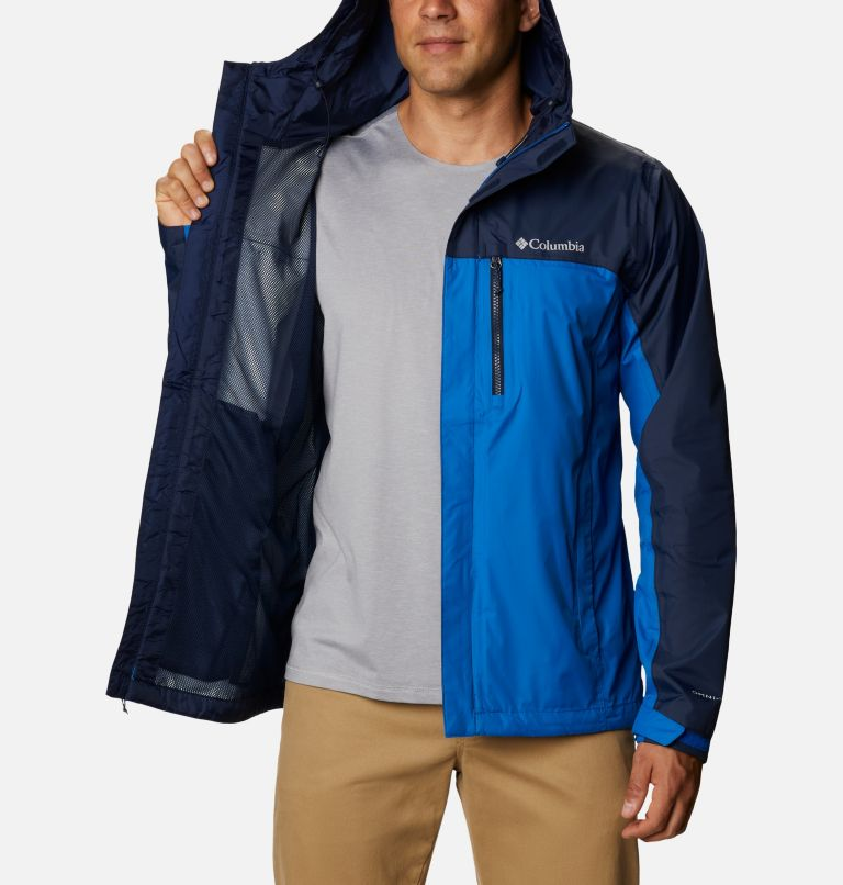 Pouring Adventure™ II Jacket | 432 | S Veste Pouring Adventure II Homme, Bright Indigo, Collegiate Navy, a3