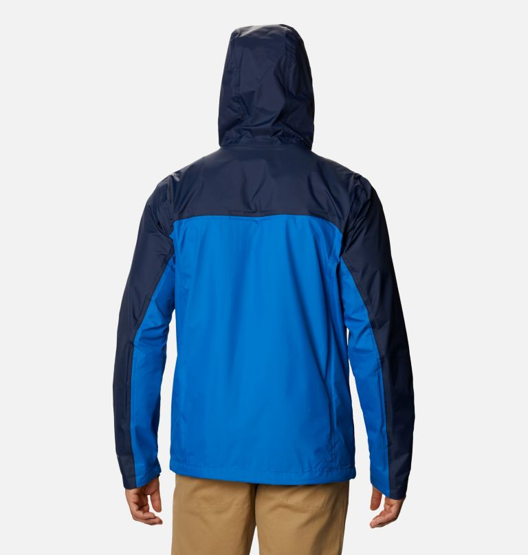Pouring Adventure™ II Jacket | 432 | S Veste Pouring Adventure II Homme, Bright Indigo, Collegiate Navy, back