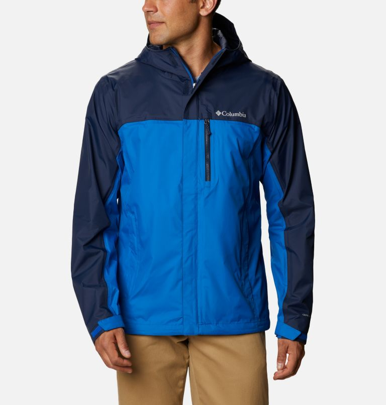 Pouring Adventure™ II Jacket | 432 | S Veste Pouring Adventure II Homme, Bright Indigo, Collegiate Navy, front
