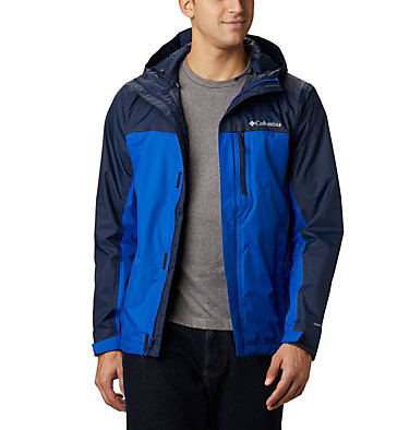 Veste Pouring Adventure II Homme Pouring Adventure™ II Jacket | 452 | XL, Azul, Collegiate Navy, front