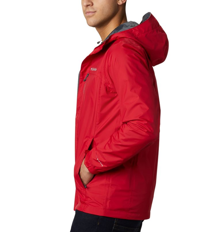 Pouring Adventure™ II Jacket | 614 | S Veste Pouring Adventure II Homme, Mountain Red, a1