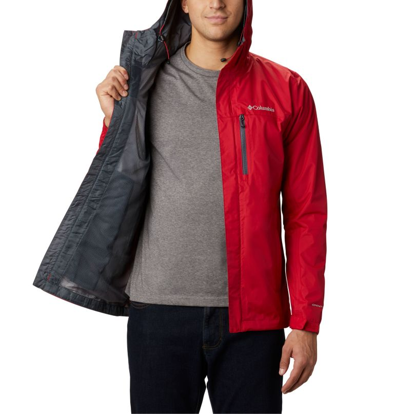Pouring Adventure™ II Jacket | 614 | S Veste Pouring Adventure II Homme, Mountain Red, a3