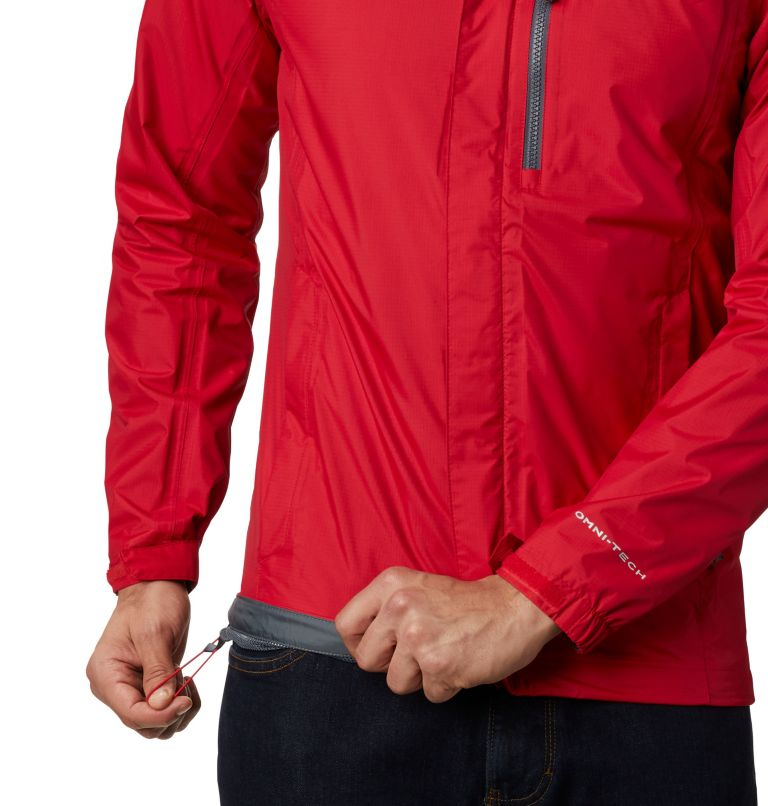 Pouring Adventure™ II Jacket | 614 | S Veste Pouring Adventure II Homme, Mountain Red, a4