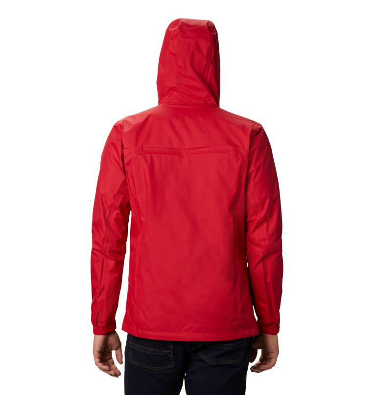 Pouring Adventure™ II Jacket | 614 | S Veste Pouring Adventure II Homme, Mountain Red, back
