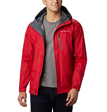 Veste Pouring Adventure II Homme Pouring Adventure™ II Jacket | 452 | XL, Mountain Red, front