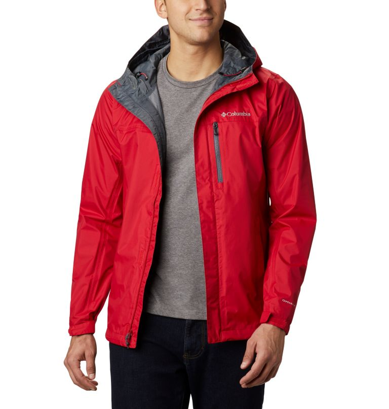Pouring Adventure™ II Jacket | 614 | S Veste Pouring Adventure II Homme, Mountain Red, front