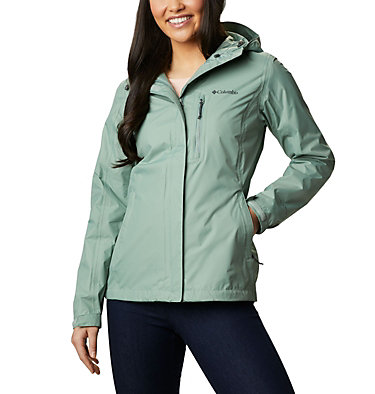 Giacca Pouring Adventure II da donna Pouring Adventure™ II Jacket | 012 | XS, Light Lichen, front