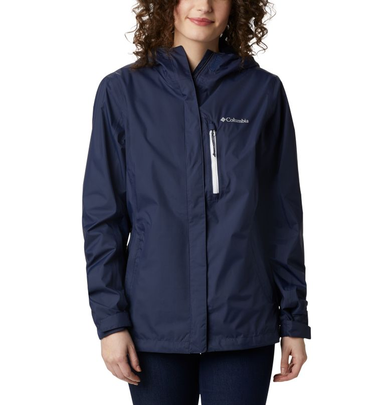 Pouring Adventure™ II Jacket | 469 | L Giacca Pouring Adventure II da donna, Nocturnal, White Zip, front