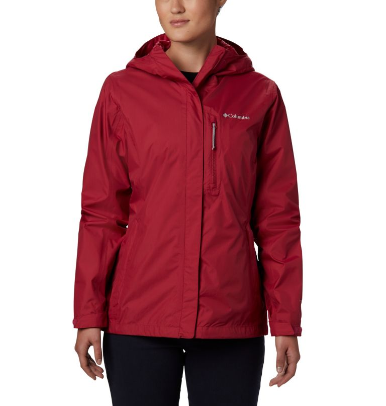 Pouring Adventure™ II Jacket | 661 | L Giacca Pouring Adventure II da donna, Red Orchid, front
