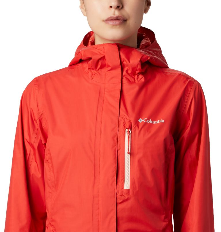Pouring Adventure™ II Jacket | 843 | S Giacca Pouring Adventure II da donna, Bold Orange, Peach Cloud Zip, a1