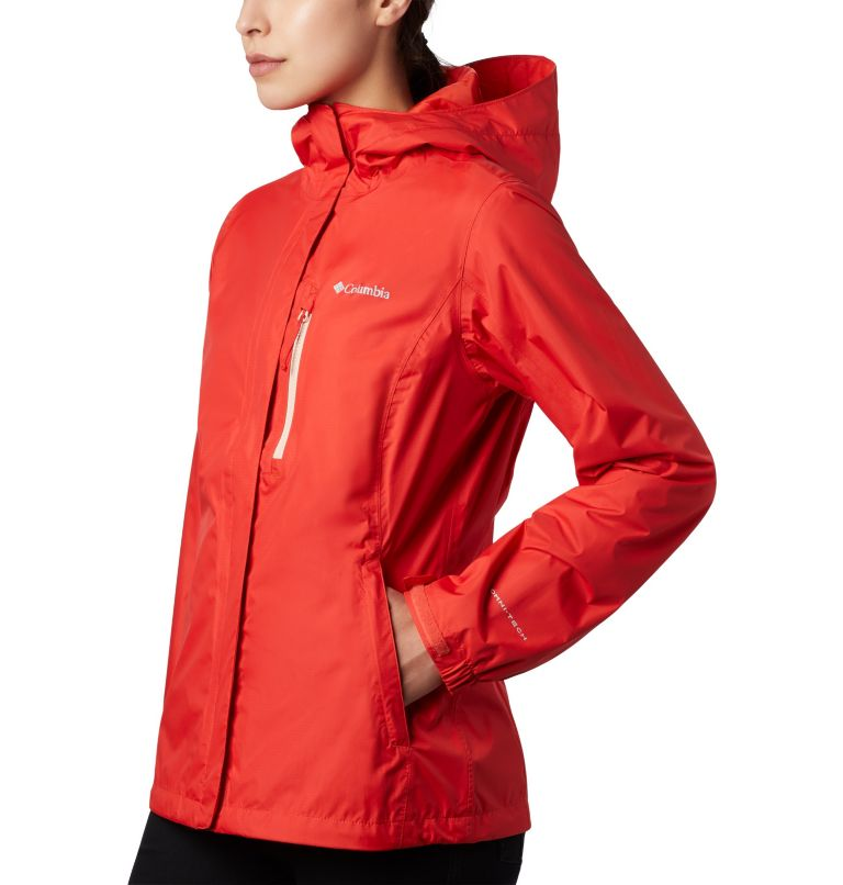 Pouring Adventure™ II Jacket | 843 | XS Giacca Pouring Adventure II da donna, Bold Orange, Peach Cloud Zip, a2