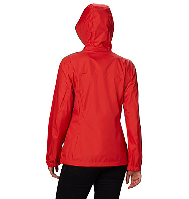 Women's Pouring Adventure™ II Jacket Pouring Adventure™ II Jacket | 012 | XS, Bold Orange, Peach Cloud Zip, back