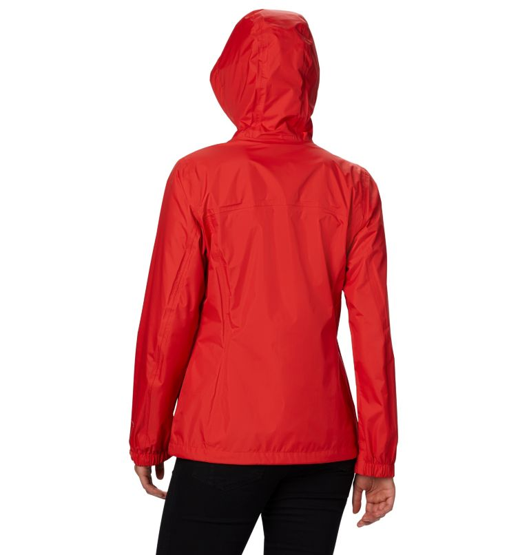 Pouring Adventure™ II Jacket | 843 | XS Women's Pouring Adventure™ II Jacket, Bold Orange, Peach Cloud Zip, back