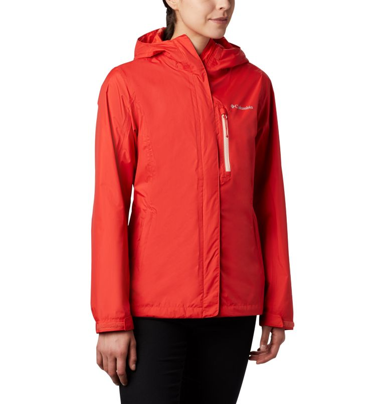 Pouring Adventure™ II Jacket | 843 | L Giacca Pouring Adventure II da donna, Bold Orange, Peach Cloud Zip, front