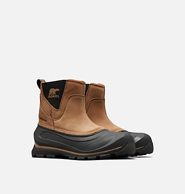 Men's Buxton™ Pull On Boot BUXTON™ PULL ON | 257 | 10, Delta, Black, 3/4 front