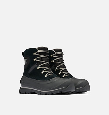 Men's Buxton™ Lace Boot BUXTON™ LACE | 010 | 10, Black, Quarry, 3/4 front