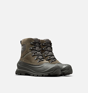 Men's Buxton™ Lace Boot BUXTON™ LACE | 010 | 10, Alpine Tundra, Quarry, 3/4 front