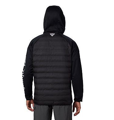 Men's PFG Terminal™ Hybrid Insulated Hoodie Terminal™ Hybrid Hoodie | 469 | XL, Black, back