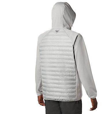 Men's PFG Terminal™ Hybrid Insulated Hoodie Terminal™ Hybrid Hoodie | 469 | XL, Cool Grey, back