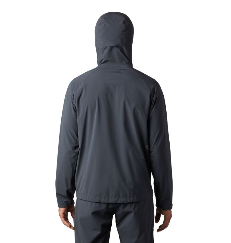 Stretch Ozonic™ Jacket | 004 | L Manteau Stretch Ozonic™ Homme, Dark Storm, back