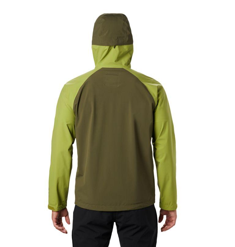 Stretch Ozonic™ Jacket | 360 | L Men's Stretch Ozonic™ Jacket, Just Green, back