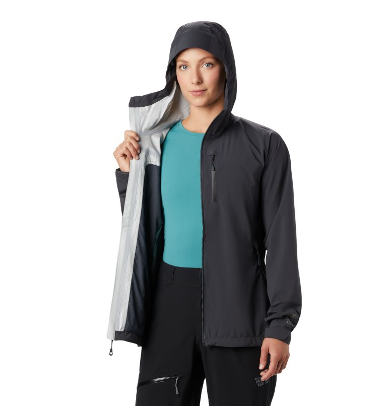 Stretch Ozonic™ Jacket | 004 | S Manteau Stretch Ozonic™ Femme, Dark Storm, a4
