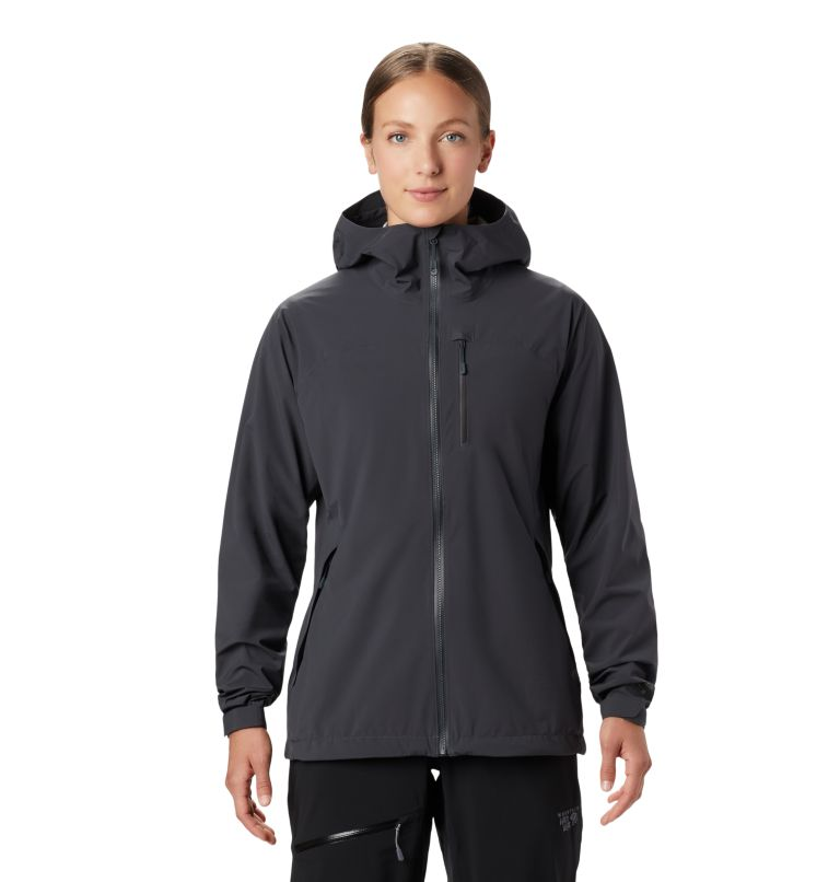 Stretch Ozonic™ Jacket | 004 | S Manteau Stretch Ozonic™ Femme, Dark Storm, front