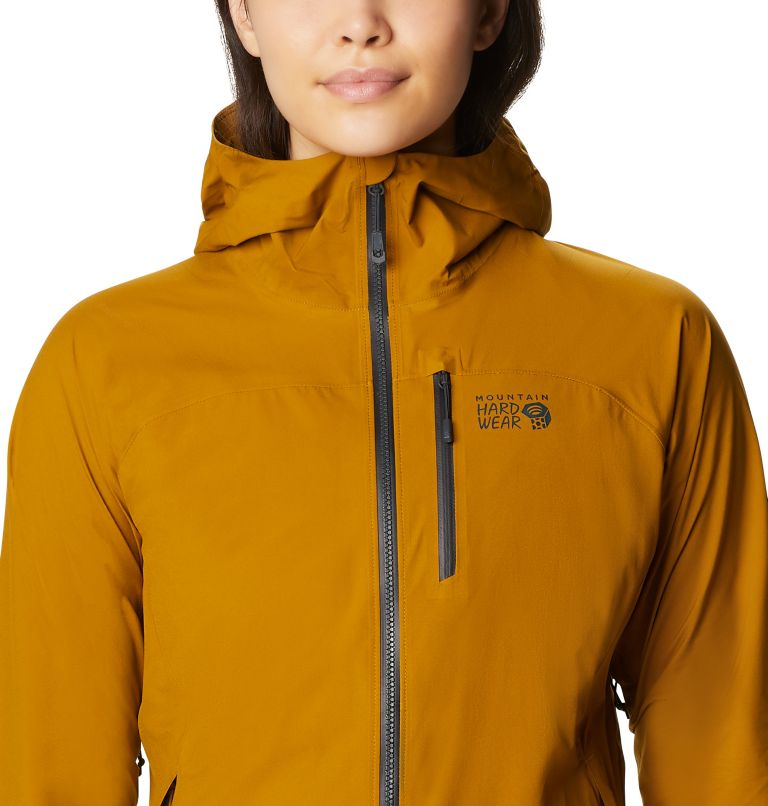 Stretch Ozonic™ Jacket | 255 | M Women's Stretch Ozonic™ Jacket, Olive Gold, a2