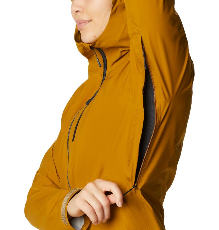 Stretch Ozonic™ Jacket | 255 | M Women's Stretch Ozonic™ Jacket, Olive Gold, a4