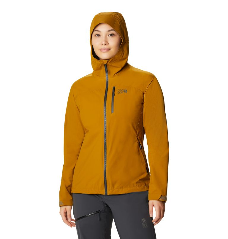 Stretch Ozonic™ Jacket | 255 | L Women's Stretch Ozonic™ Jacket, Olive Gold, front