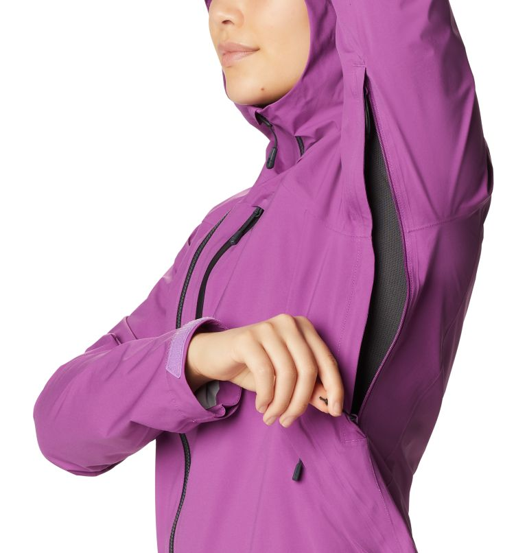 Stretch Ozonic™ Jacket | 547 | M Women's Stretch Ozonic™ Jacket, Acai, a4