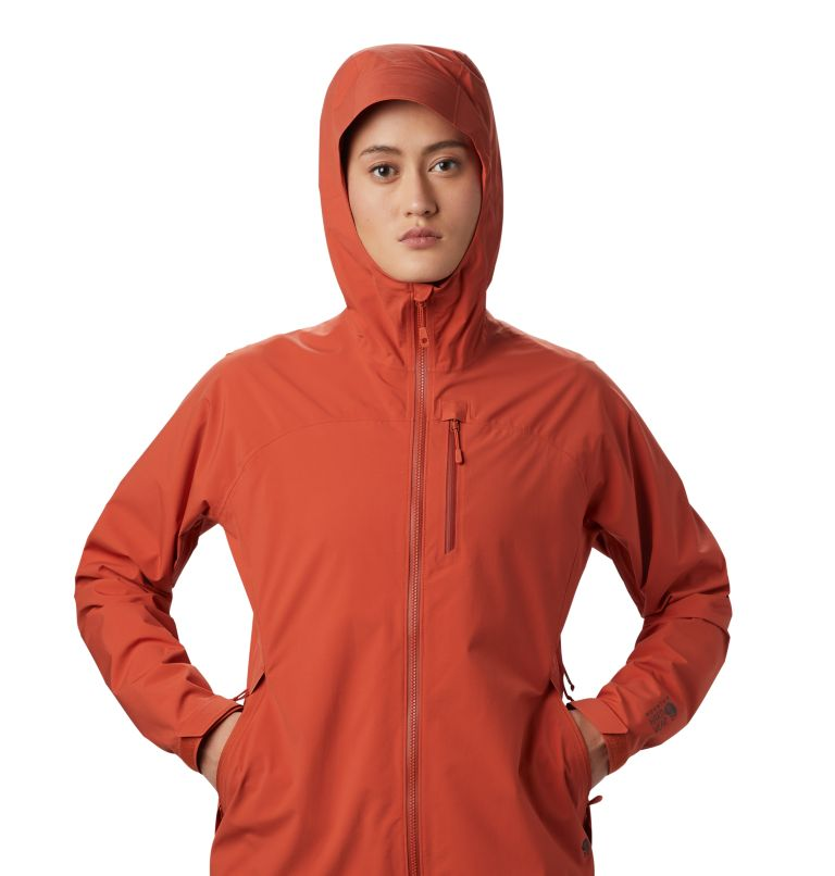 Stretch Ozonic™ Jacket | 840 | S Women's Stretch Ozonic™ Jacket, Dark Clay, a2