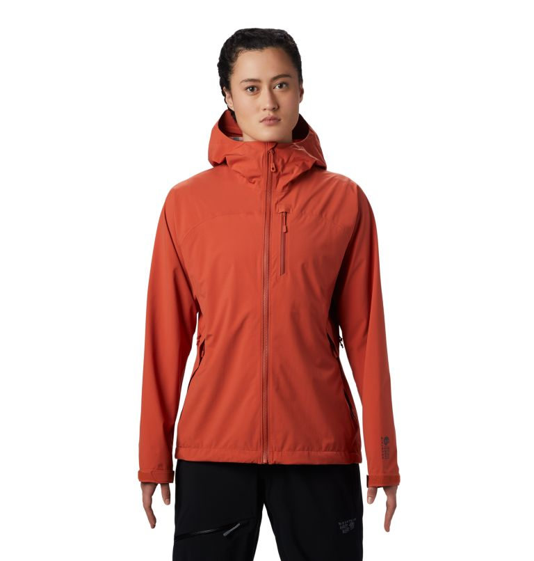 Stretch Ozonic™ Jacket | 840 | S Women's Stretch Ozonic™ Jacket, Dark Clay, front
