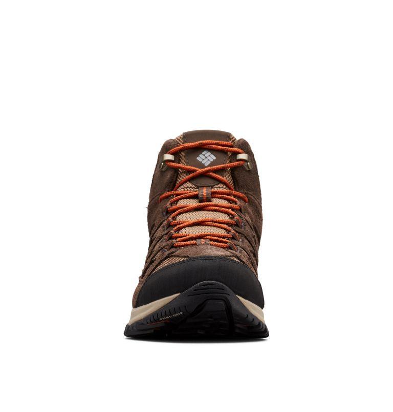 CRESTWOOD™ MID WATERPROOF | 203 | 9.5 Men's Crestwood™ Mid Waterproof Hiking Boot, Dark Brown, Dark Adobe, toe