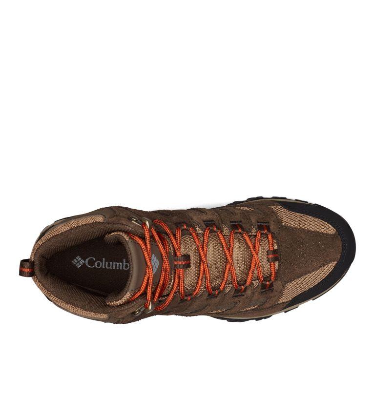 CRESTWOOD™ MID WATERPROOF | 203 | 8 Men's Crestwood™ Mid Waterproof Hiking Boot, Dark Brown, Dark Adobe, top