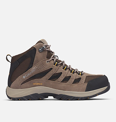 Men's Crestwood™ Mid Waterproof Hiking Boot CRESTWOOD™ MID WATERPROOF | 241 | 12, Cordovan, Squash, front