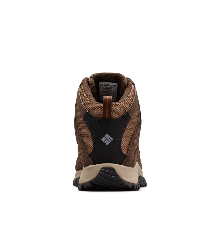CRESTWOOD™ MID WATERPROOF WIDE | 203 | 7 Men's Crestwood™ Mid Waterproof Hiking Boot - Wide, Dark Brown, Dark Adobe, back