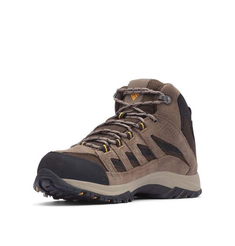 CRESTWOOD™ MID WATERPROOF WIDE | 231 | 7.5 Men's Crestwood™ Mid Waterproof Hiking Boot - Wide, Cordovan, Squash