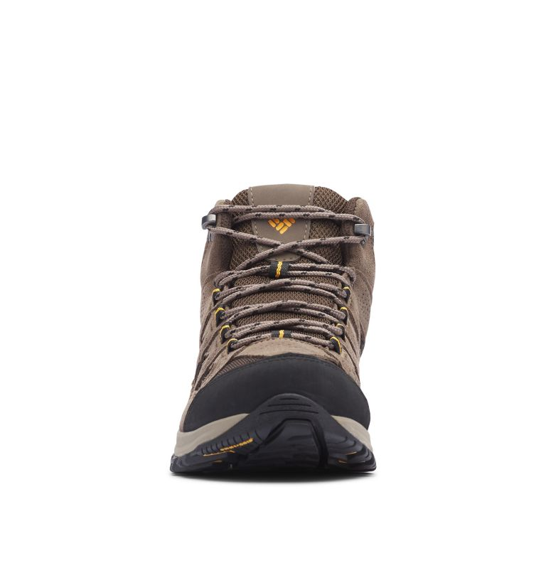 CRESTWOOD™ MID WATERPROOF WIDE | 231 | 7.5 Men's Crestwood™ Mid Waterproof Hiking Boot - Wide, Cordovan, Squash, toe