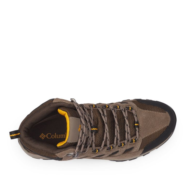 CRESTWOOD™ MID WATERPROOF WIDE | 231 | 7.5 Men's Crestwood™ Mid Waterproof Hiking Boot - Wide, Cordovan, Squash, top